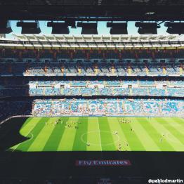 #EstadioSantiagoBernabeu
