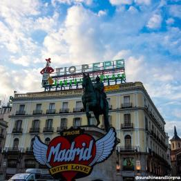 #PlazaPuertadelSol #PuertadelSol